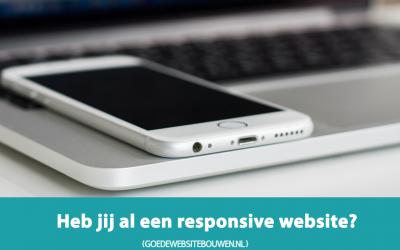 Heb jij al een responsive website?